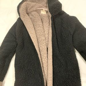 Urban Outfitters fuzzy coat